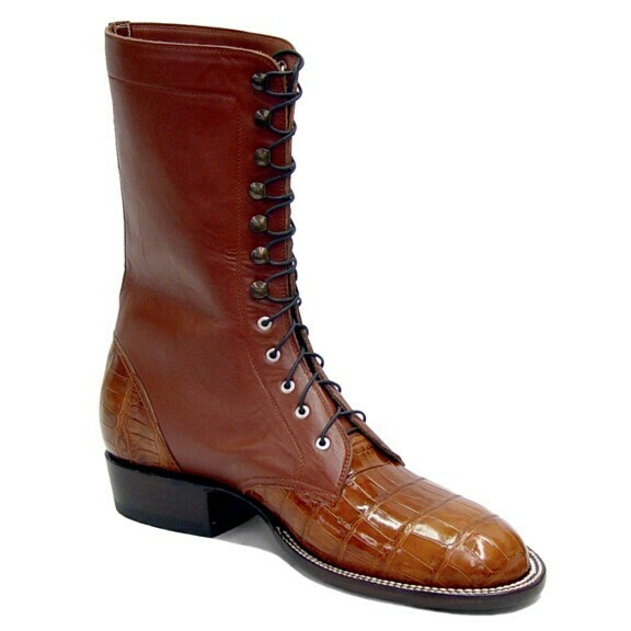 Smooth Nile Crocodile (15 Colors) Packer Boots