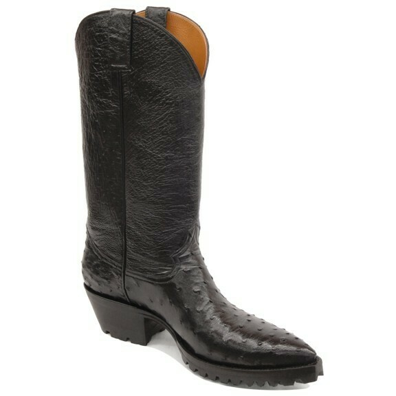 Full Quill Ostrich Motorcycle Boots (18 COLORS)