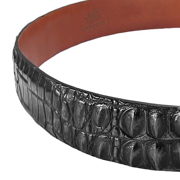 Hornback Nile Crocodile Belt