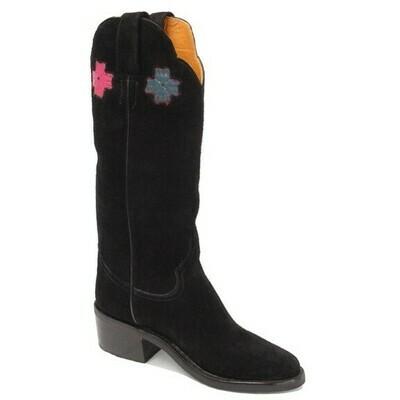 Dulcinea Suede Cowboy Boots