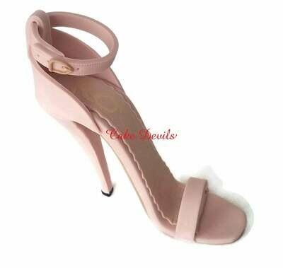 High Heel Shoe Cake Topper, Fondant Stiletto Sandal