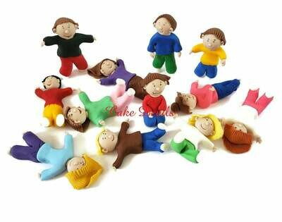 Jumping Party, Trampoline Cake Toppers