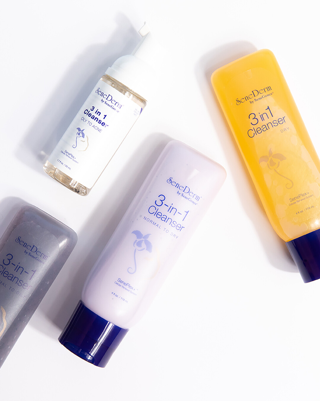 SeneDerm® 3-in-1 Cleansers