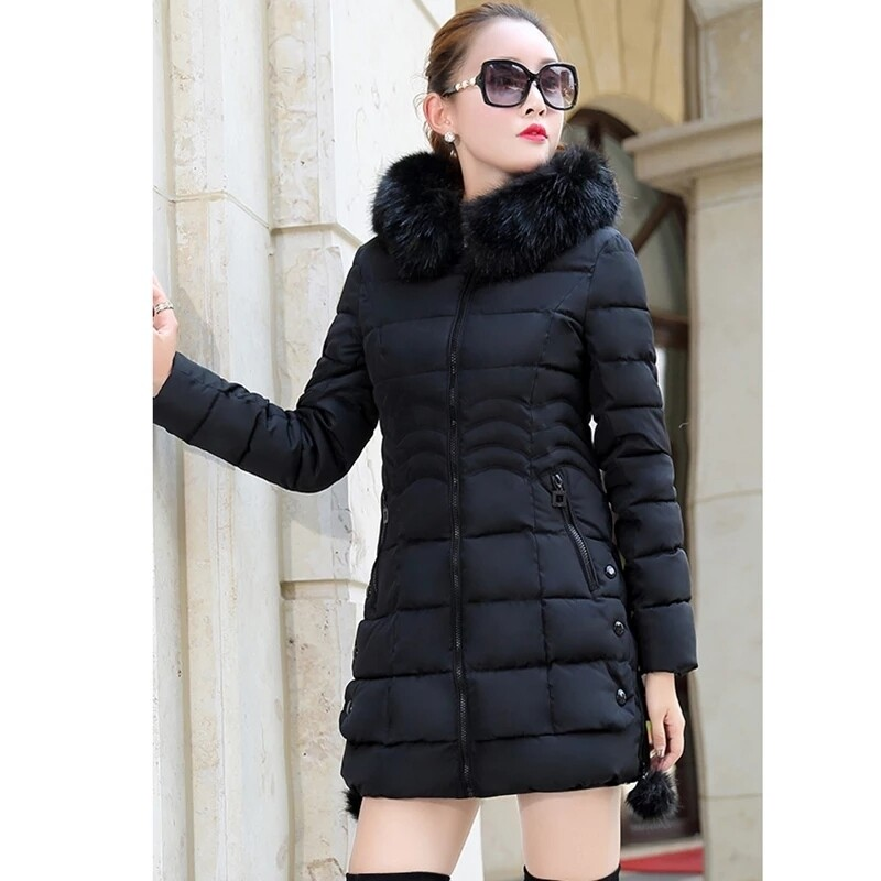 Womens belted winter jackets