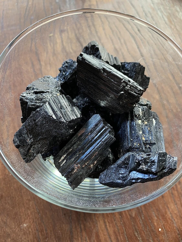Black Tourmaline Rough