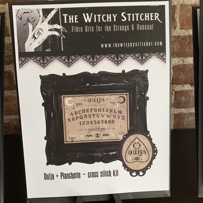 Ouija & Planchette Cross Stitch Kit