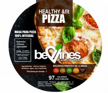 Pack de 3 Bases para pizza 100% integral