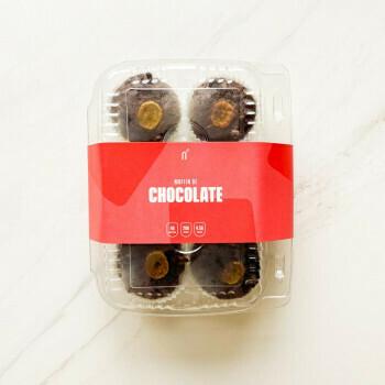 Muffins de Chocolate 6 Unidades