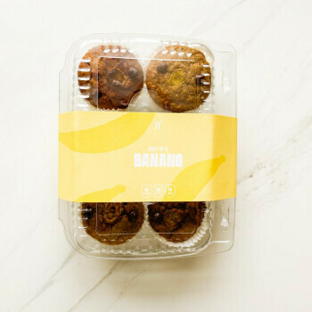 Muffins de banano