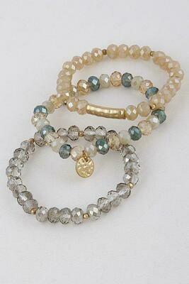 Calming Shimmer Bracelets