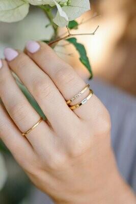 Three Gem Ring