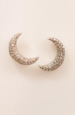 Mini Moons Stud Earrings