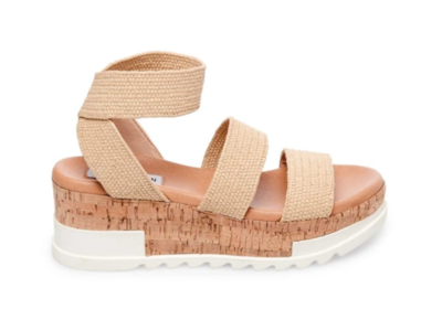 Nude Beach Platform Sandals