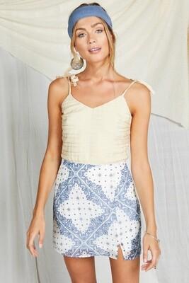 Mandala Mini Skirt | June 2020