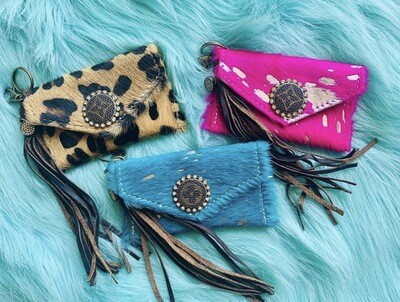 Upcycled Authentic Wristlets