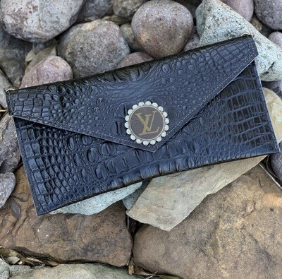 Upcycled Clutch