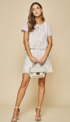 Beauty Checkered Skirt