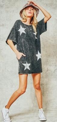 Star Washed Dress