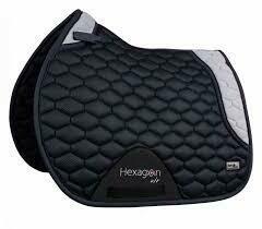 Fairplay saddle pad hexagon mesh