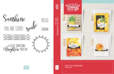 June 2020 Box of Sunshine Paper Pumpkin Kits
