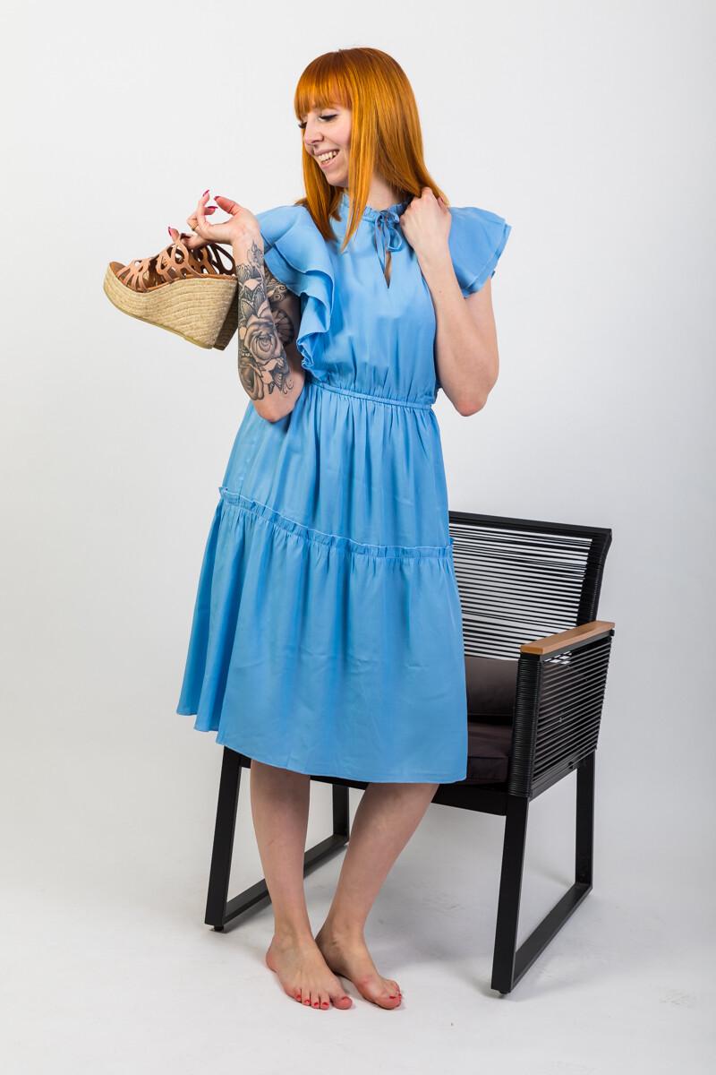 """Kleid """"Ivalo"""" blue"""