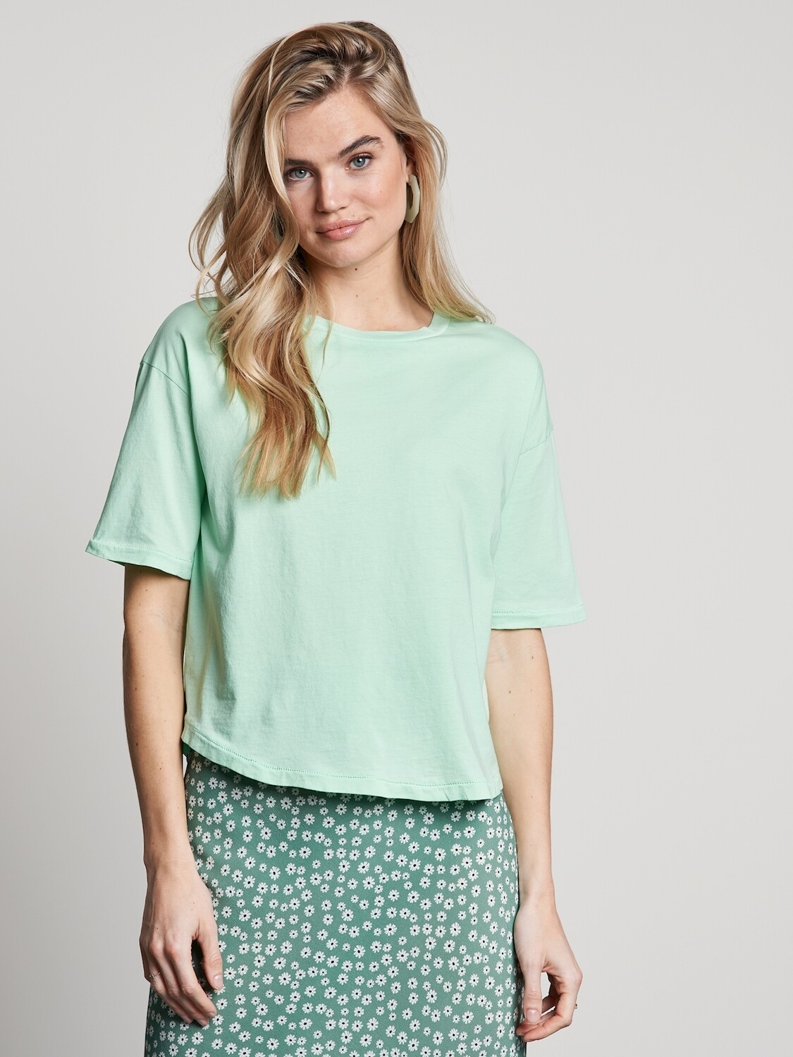 T-Shirt Lucy iced-mint