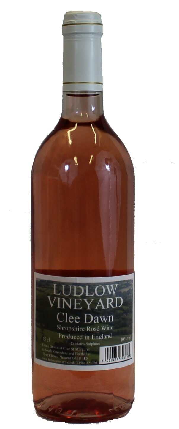 Clee Dawn Rosé English wine from Shropshire