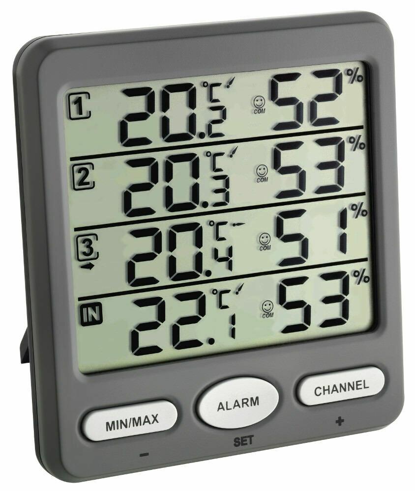 Funk-Thermo-Hygrometer KLIMA-MONITOR