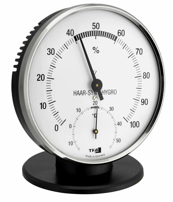 Thermo-Hygrometer mit Metallring TFA 45.2032