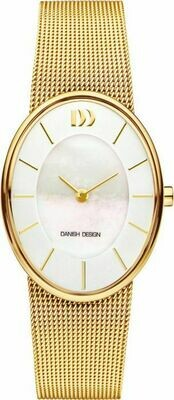RØMØ OVAL MOTHER OF PEARL GOLD
