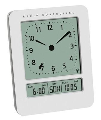 Funkwecker mit zwei Alarmzeiten