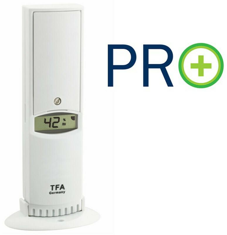 Temperatur-Luftfeuchtesender mit PRO Funktion TFA 30.3312.02