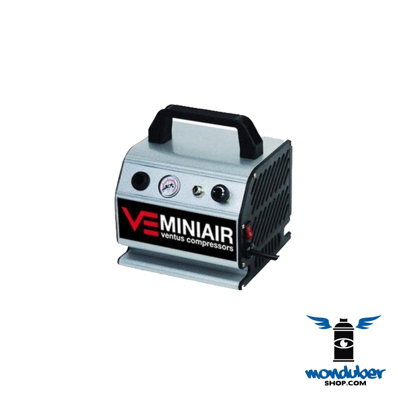 Compresor Semiautomático Mini Air Ventus 1/6 HP