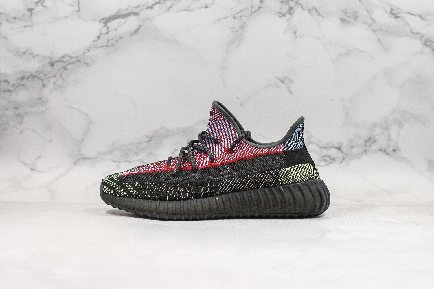 "Yeezy Boots 350 V2 ""Yecheil/Static""  Runner shoes FX4145"