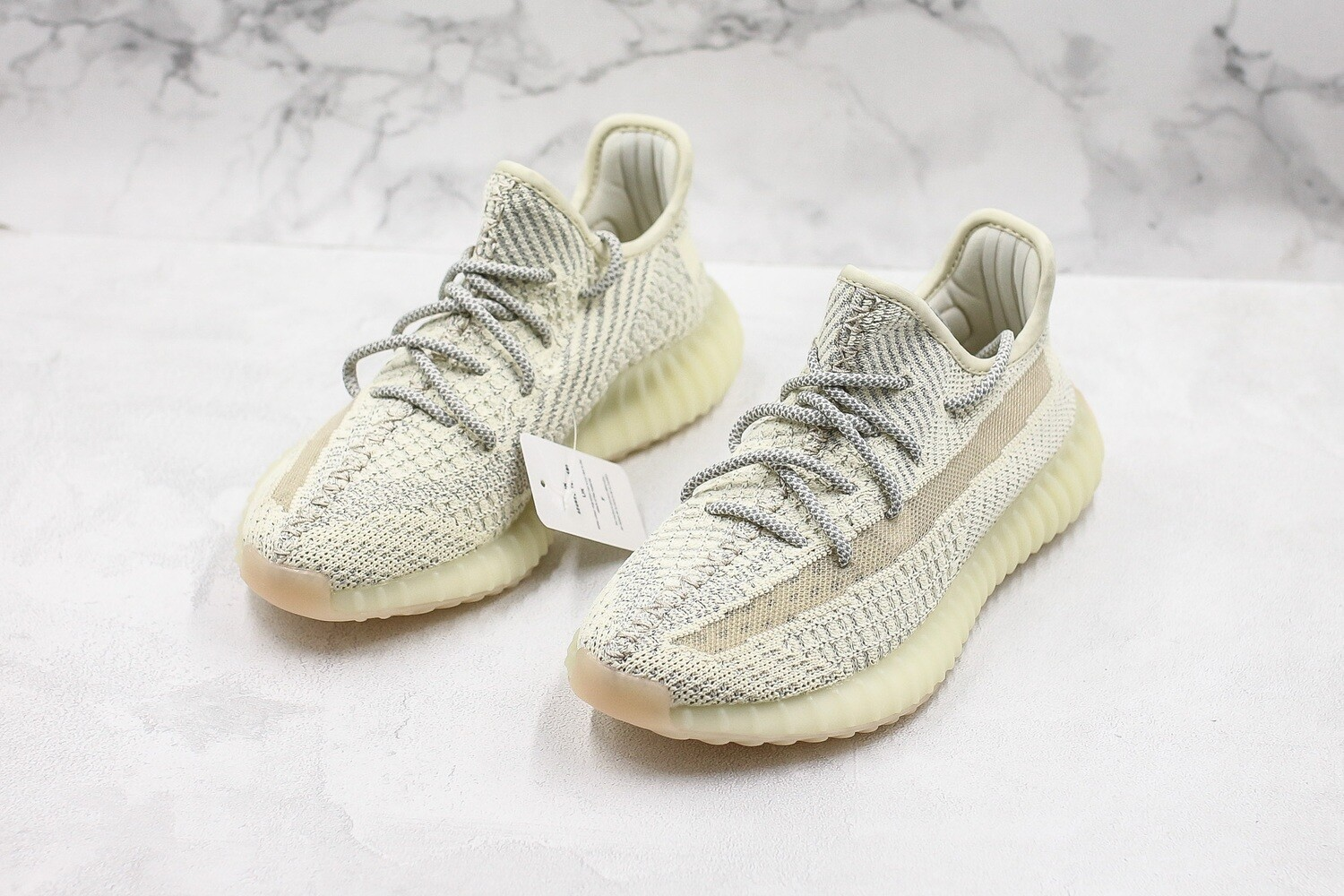 "Yeezy Boost 350 V2 ""Beard White"" (Reflective)"