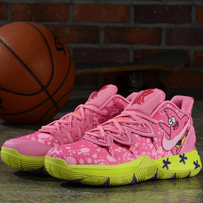 Spongebob Squarepants X Kyrie 5 Patrick Star Graffiti Basketball Shoes