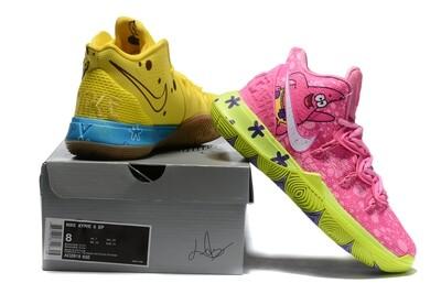 Spongebob X Kyrie 5 Patrick Star Graffiti Basketball Shoes