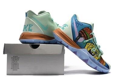 Spongebob Squarepants X KYRIE 5 'Squidward Graffiti' Basketball Shoes