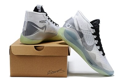 Zoom Kd 12 Reflective Black Grey Signature Basketball Shoes