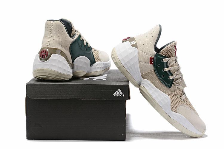 James Harden Basketball Shoes Cream Green