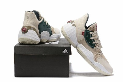 James Harden Basketball Shoes Cream Green