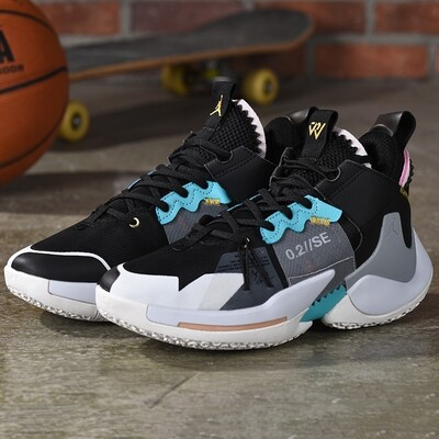 Men's  Jordan 'Why Not?' Zer0.2 SE PF Basketball Shoe Core Grey