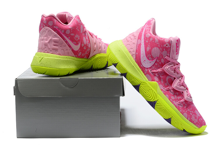 Spongebob Squarepants X Kyrie 5 Patrick Star Basketball Shoes