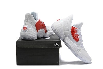 James Harden Basketball Shoes White Red