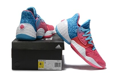 James Harden Basketball Shoes Red Blue