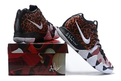 Men's Kyrie 4 Basketball Shoes Leopard