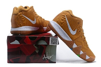 Men's Kyrie 4 Basketball Shoes Yellow White