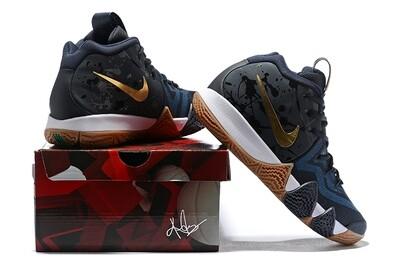 Men's Kyrie 4 Basketball Shoes Dark Blue