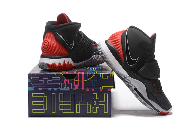 Men's Kyrie Irving  Kyrie 6 Basketball Shoes Black Red
