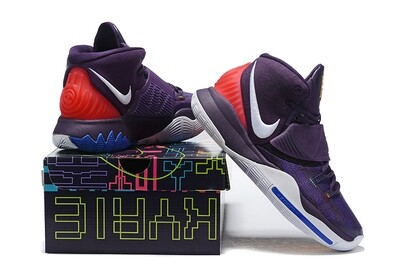 Men's Kyrie Irving  Kyrie 6 Basketball Shoes Violet White
